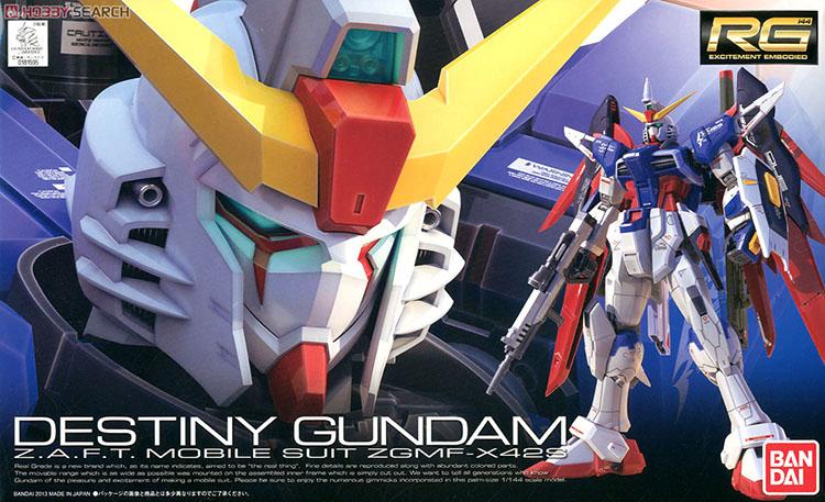 Mô hình GMF-X42S Destiny Gundam (RG)