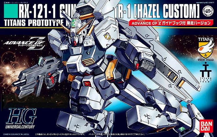 Mô hình Gundam HG UC RX-121-1 Hazel Custom Bandai-tab store