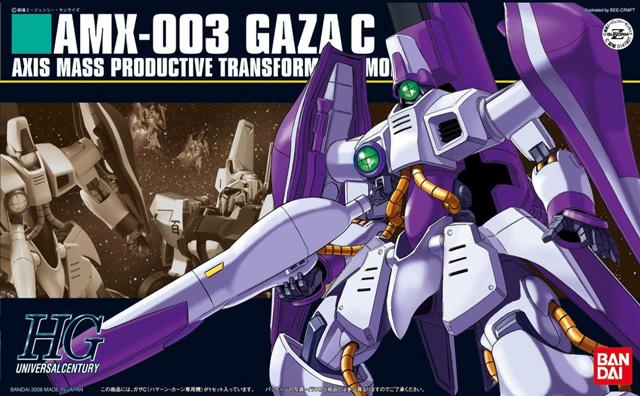 Mô hình HG AMX-003 Gaza-C -tab store