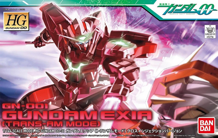 Mô hình HG GN-001 gundam Exia trans-am mode