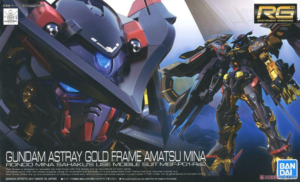 Mô hình RG Gundam Astray Gold Frame Amatsu Mina