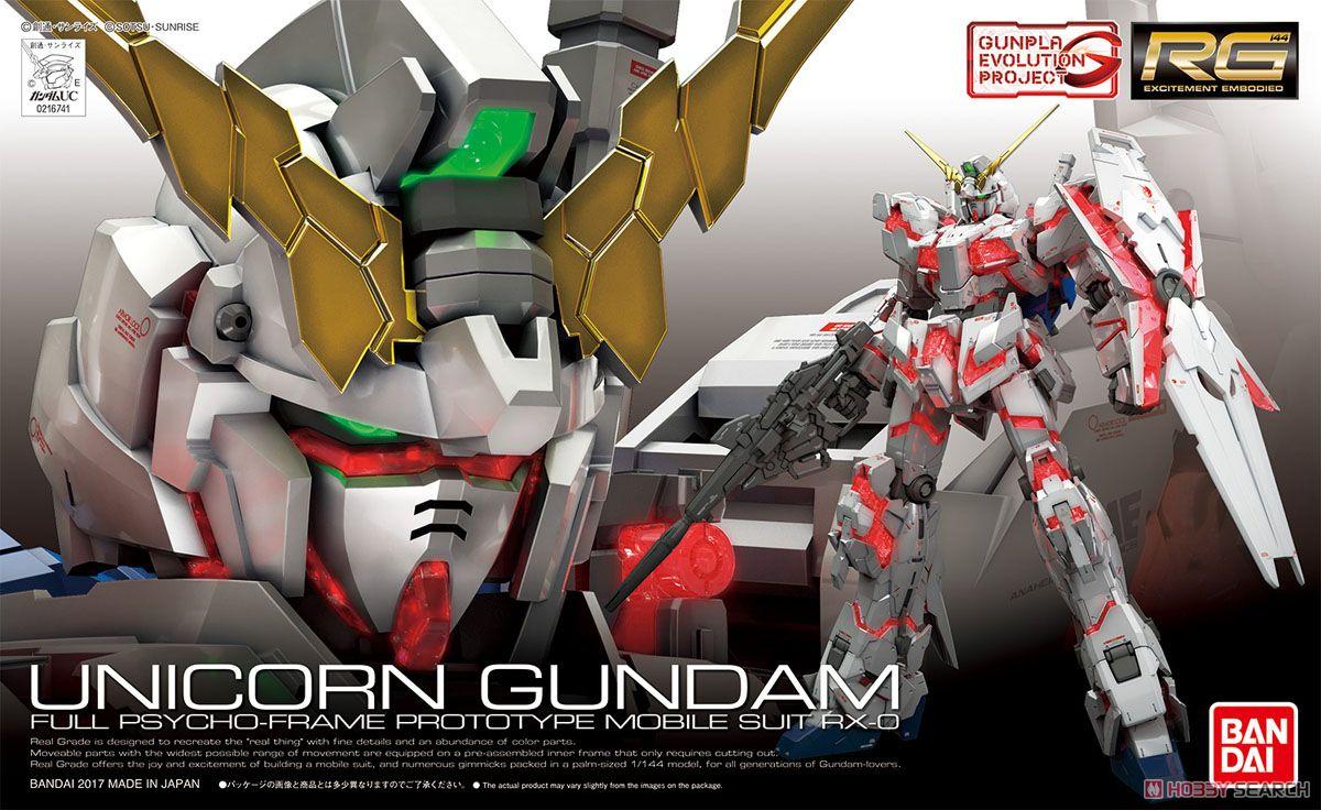 Mô hình RG Unicorn Gundam Bandai - Tab store