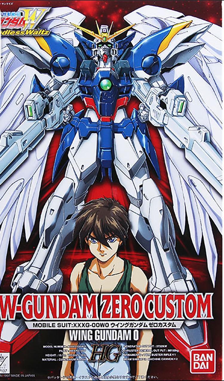 Mô hình hg W-Gundam Zero Custom Bandai