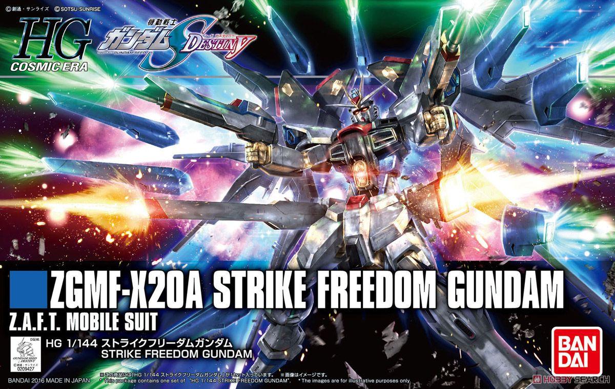 mô hình HG gundam bandai ZGMF-X20A STRIKE FREEDOM - tab store