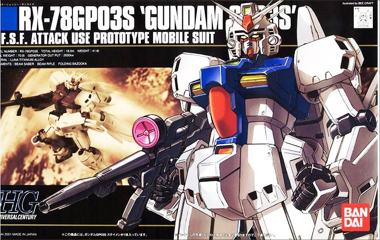 mô hình HGUC RX-78 GP03S Gundam GP03 STAMEN - tab store