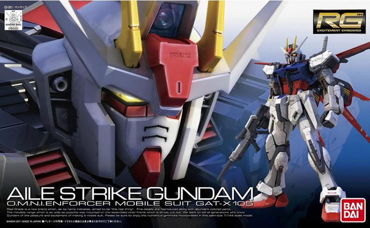 mô hình RG Aile strike gundam GAT-X 105 - TAB STORE
