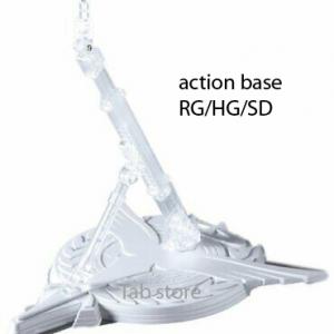 Giá đỡ trưng bày mô hình Gundam Action base model RG HG SD BB (2)