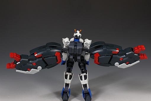 Đánh giá chi tiết mô hình Bandai Gundam HG IBO Dantalion (28)