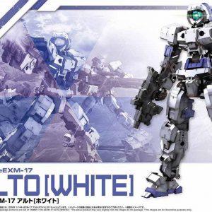 Mô hình Bandai Gundam 30MM 1144 eEXM-17 Alto White