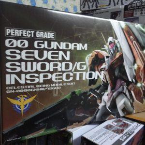 Mô Hình Lắp Ráp Gundam PG 00 Gundam Seven Sword/G Inspection Bandai