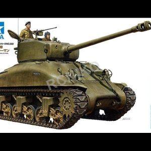Mô Hình Lắp Ráp Xe Tăng Quân Đội Israel M1 Super Sherma Tamiya 35322