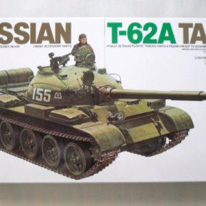 Mô Hình Xe Tăng Quân Đội Nga Russian T-62A Tank Tamiya 35108
