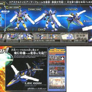 Mô Hình Lắp Ráp Đấu Sĩ Hyper Function LBX Odin Bandai